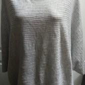 Мягенький свитерок oversize , сост. отличное