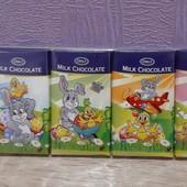 Шоколад Пасхальный молочный (мини) Only Milk Chocolate 5х15 г Австрия