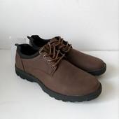 Туфли для мужчин, практичные, хорошо смотрятся на ноге, размер 40,41,44,45