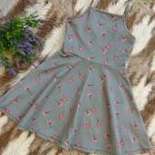 Красивое платье от Primark на 8-9лет