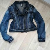 Бомбезная джинсовая косуха/Denim/L!!!