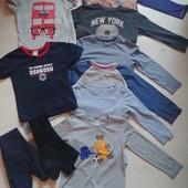 10 вещей одним лотом на мальчика 4- 5 лет