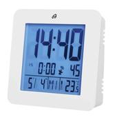 Настольные LCD часы будильник с датчиком температуры и датой Auriol Германия