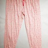 Яркие трикотажные штаны для дома и отдыха р.ХЛ
