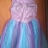 Платье Русалочка. На рост 134