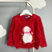 Красивый мягенький свитер травка lupilu 86-92