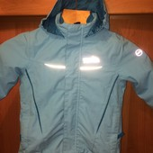 Куртка. термо ветровка, внутри флисовая подстежка, размер 2 года 92 см, High Colorado. сост отличное