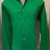 Турция! Шикарная рубашка, размер ХХЛ (52/54 наш), есть замеры