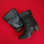 Сапоги ботинки Clarks натур кожа 38 размер