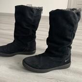 Сапоги замшевые деми/еврозима Nike оригинал 36 р