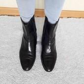 ботинки з нат шкіри на ширшу стопу Oscar 41