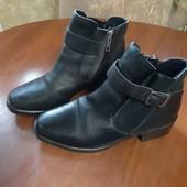 продам кожанные ботинки демисезон