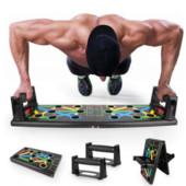 Платформа для отжиманий Foldable Push Up Board складная доска для фитнеса 14 в 1
