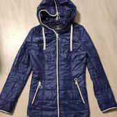 Классная фирменная Fine Baby Cat демисезонная куртка, размер 44 М, в отличном состоянии!