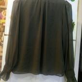 шифоновая шикарная блузка