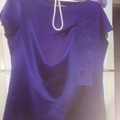 Шикарная атласная блузка