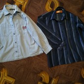 Две рубашки на мальчика 3-5 лет в хорошем состоянии.