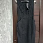 Фирменный новый красивый платье-сарафан р.32-34евро на пог 39-40, поб-45