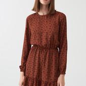 Платье с узором Sinsay
