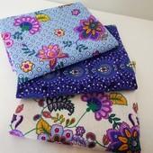 Набор красивых полотенец из хлопка! отличная идея для подарка!