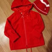 Куртка- вітровка( шапочка у подарунок)
