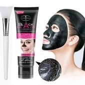 маска для удаления черных точек,  очищение лица