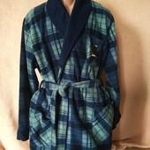 Теплий плотний добротний флісовий халат у відмінному стані ХЛ/Ххххл дивіться заміри