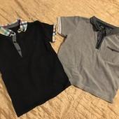 Дві футболки поло одним лотом на 3-4 роки