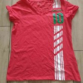 Лидл хлопковая футболка болельщиков XS32/34+6
