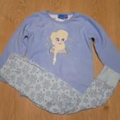 Пижама Disney кофта-флис,штаны-х\б состояние очень хорошее