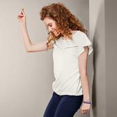 Блуза-футболка с вышивкой от Tchibo (Германия), р.40\42евро