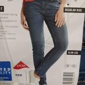 esmara.стильные стрейчевые skinny. fit евро 36+6