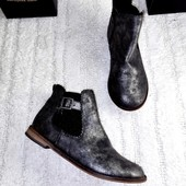 Ботинки челси для девочки стелька 22,5 см от Next