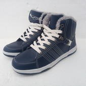 Утепленные спортивные ботинки 38