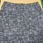 Трикотажная юбка , Пот47, Поб-56-66, сост.отличное