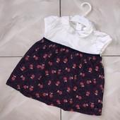Стоп !❤ Красота!Фирменное нарядное платье для малышки,1-2 года❤ Много лотов!