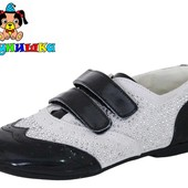 Весенние туфли кожа+замша Шалунишка 22,0 см