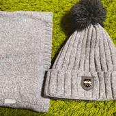 Комплект: шапка + снуд!