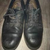 Кожаные мужские зимние ботинки 43-44рр