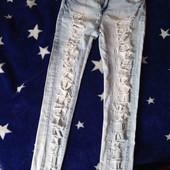 Класнючие джинсы рванки