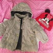 теплая куртка+шапочка