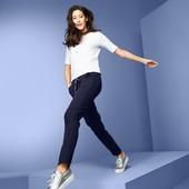 ☘ Жіночі темно-сині спортивні штани,Tchibo (Німеччина), розмір наш: 58-60 (52/54 евро)