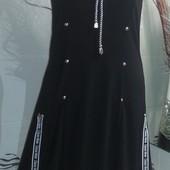 Платье-сарафан Свитшот, размер М. Читайте пож. описание!