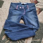 Собирай лоты) экономь на доставке)Краснючие джинсы для девочки 8-11 лет