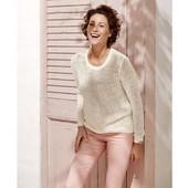 Женский вязаный пуловер джемпер свитер от Еsmara германия 44/46 евро