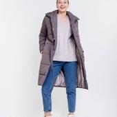 Довга куртка зима-холодна весна,  нова M-L