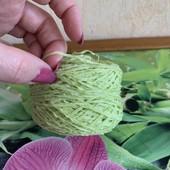 Пряжа сток, нитки для вязания - лот 6 шт