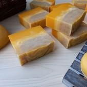 """Натуральное мыло """"Облепиха-мандарин"""""""