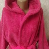 Мягенький халат с капюшоном
