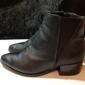 Полностью кожаные деми ботинки Челси, разм. 36 (23,5 см внутри). Сост. хорошее!